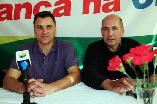 Francisco Gonçalves  e António Óscar