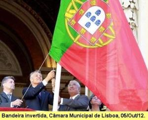 Comemorações oficias do 5 de Outubro na Praça do Municipio e Pateo da Galé