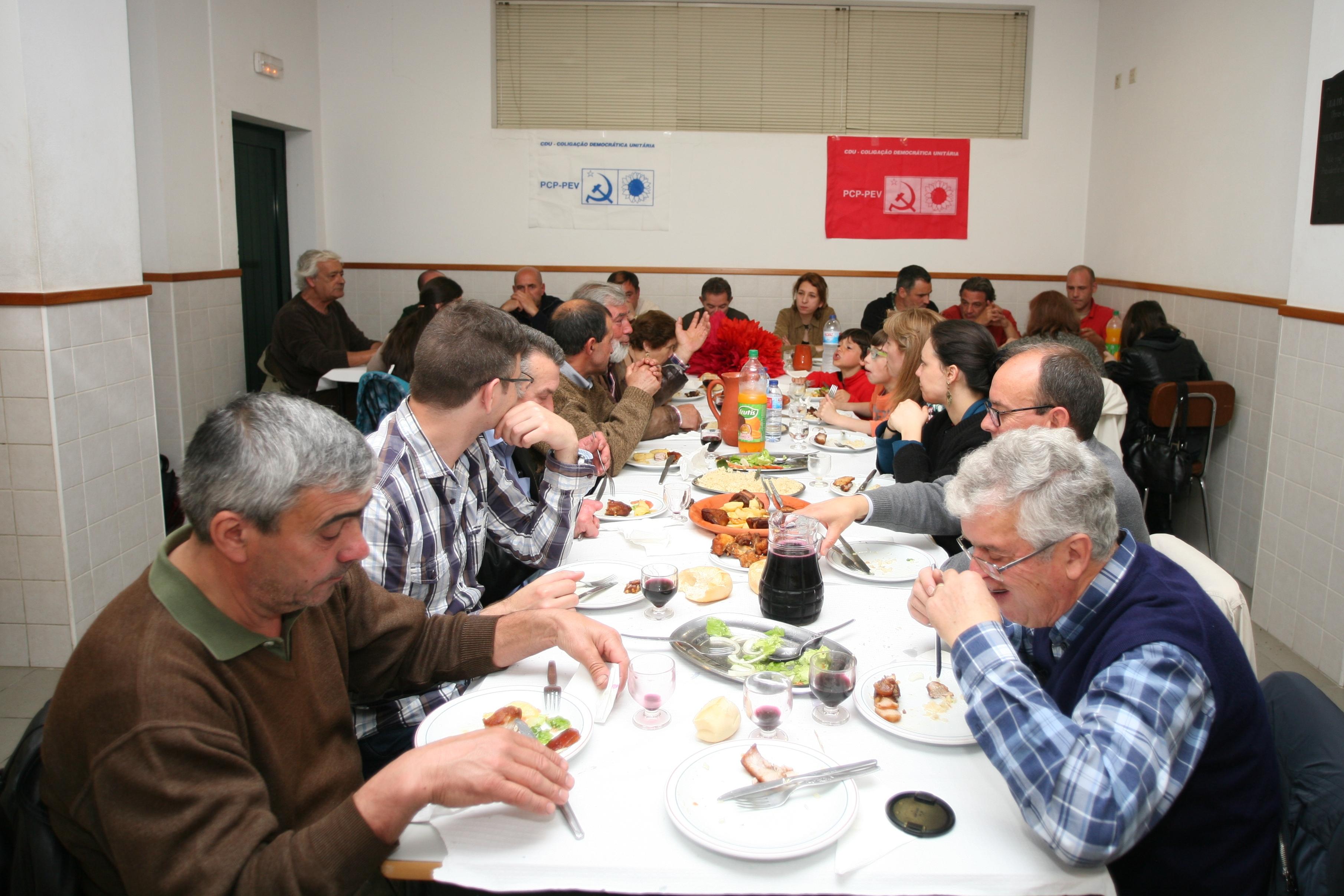 CDU - Jantar 25 de Abril em Arouca