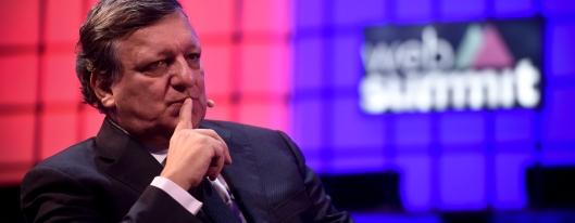 Durão Barroso, serviu a empresa enquanto político e agora é admninistrador in Lisbon from November 7 to 10. / AFP PHOTO / PATRICIA DE MELO MOREIRA