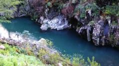 Rio Paivô - águas esverdeadas