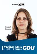 4º - Isabel Gomes, 41 anos, psicóloga, doutorada em Psicologia pela Universidade do Porto. Atualmente trabalha na Faculdade de Psicologia e de Ciências da Educação dessa mesma Universidade. Em Março de 2019 foi eleita para a Direcção da Associação de Bolseiros de Investigação Científica e faz atualmente parte da Comissão de requerentes ao PREVPAP da Universidade do Porto. É Conselheira Nacional dos Verdes desde 2011.