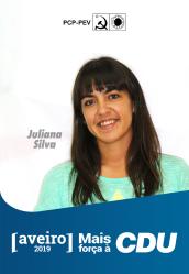 7º - Juliana Silva, 32 anos. Educadora de infância no Centro Social da Habitovar. Membro da Comissão Concelhia de Ovar do PCP.